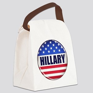 Vote Hillary 2016 Canvas Lunch Bag