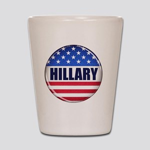 Vote Hillary 2016 Shot Glass