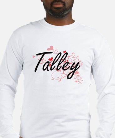 Talley Artistic Design with He Long Sleeve T-Shirt
