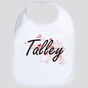 Talley Artistic Design with Hearts Bib