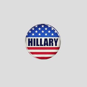 Vote Hillary 2016 Mini Button