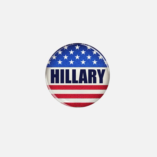Vote Hillary 2016 Mini Button