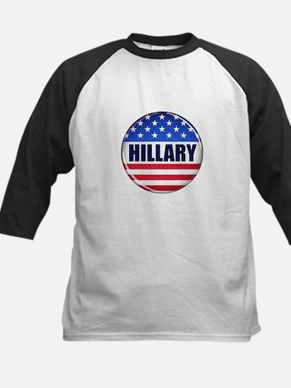 Vote Hillary 2016 Baseball Jersey