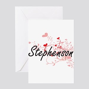 Stephenson Artistic Design with Hea Greeting Cards