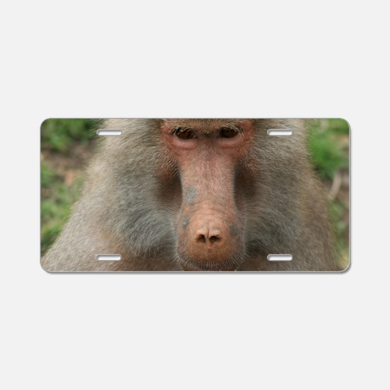 See You Soon, Baboon Aluminum License Plate