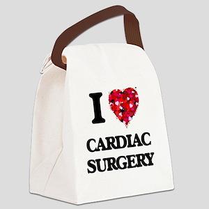 I love Cardiac Surgery Canvas Lunch Bag