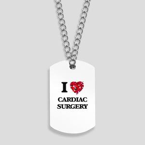 I love Cardiac Surgery Dog Tags