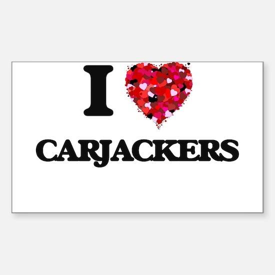 I love Carjackers Decal