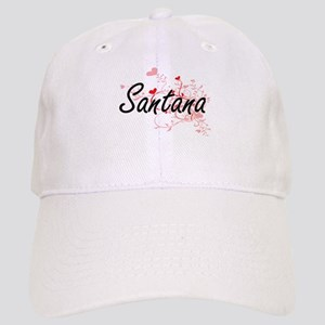 Santana Artistic Design with Hearts Cap