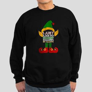 I Just Like Gymnast Gymnastics Favorite Sweatshirt