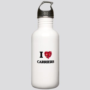I love Carriers Stainless Water Bottle 1.0L
