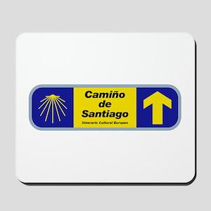 Camino de Santiago, Spain Mousepad