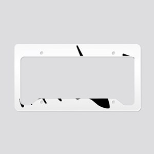 Fighter aircraft License Plate Holder