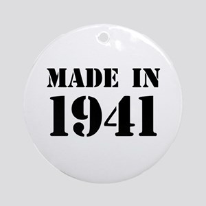 Made in 1941 Ornament (Round)