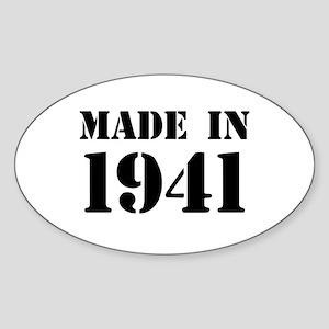 Made in 1941 Sticker