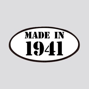 Made in 1941 Patch