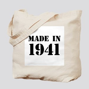 Made in 1941 Tote Bag