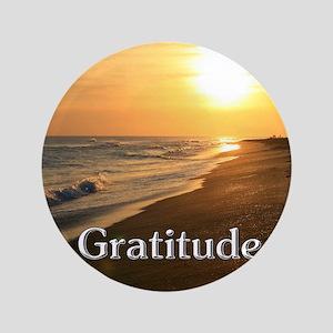 Gratitude Sunset Beach Button