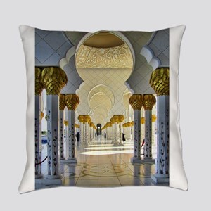 zayed mosque corridor 1 Everyday Pillow