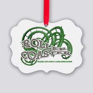 Youtube channel Roller Coaster GW Picture Ornament