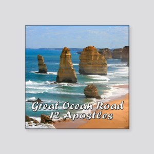 Great Ocean Road and Twelve Ap Sticker