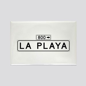 La Playa Street, San Francisco Rectangle Magnet