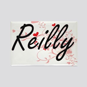 Reilly Artistic Design with Hearts Magnets