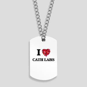 I love Cath Labs Dog Tags