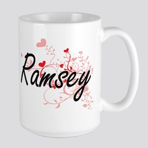Ramsey Artistic Design with Hearts Mugs