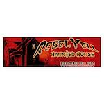 Rebel Yell Logo Bumper Sticker