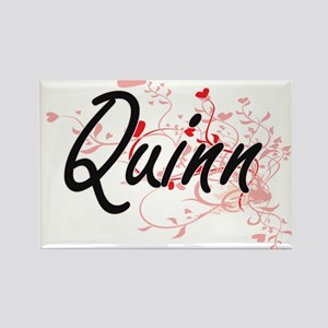 Quinn Artistic Design with Hearts Magnets