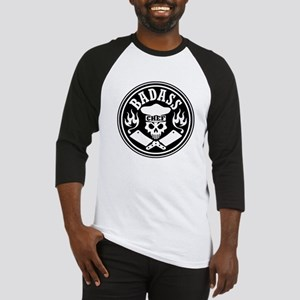Badass Chef Black Baseball Jersey