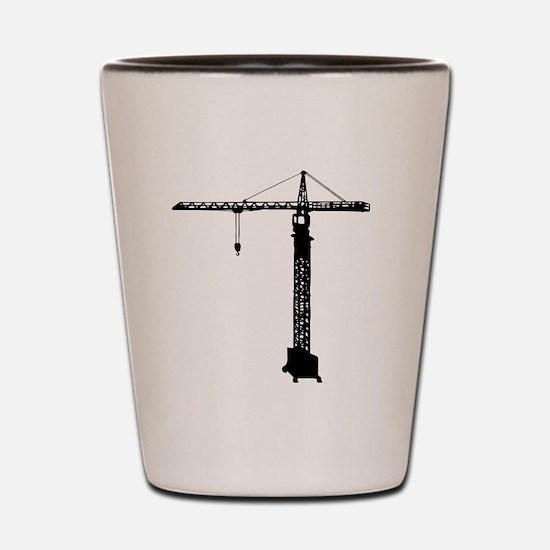 grue crane Shot Glass