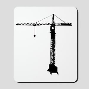 grue crane Mousepad