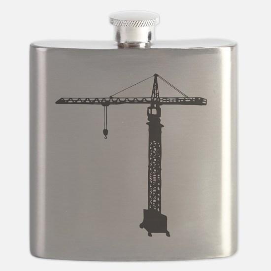 grue crane Flask