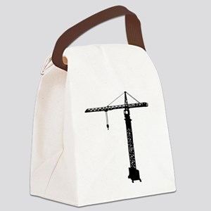 grue crane Canvas Lunch Bag
