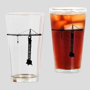 grue crane Drinking Glass