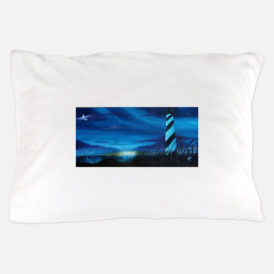Lighthouse at Sunrise Pillow Case