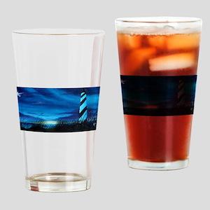 Lighthouse at Sunrise Drinking Glass