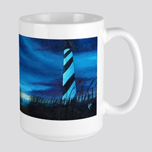 Lighthouse at Sunrise Mugs