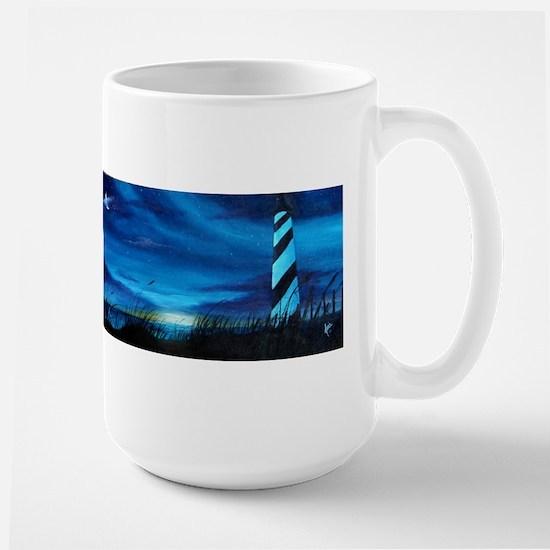 Lighthouse at Sunrise Mugs
