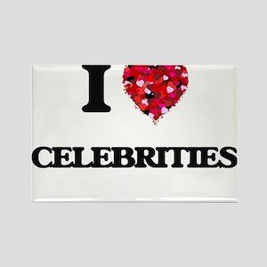 I love Celebrities Magnets