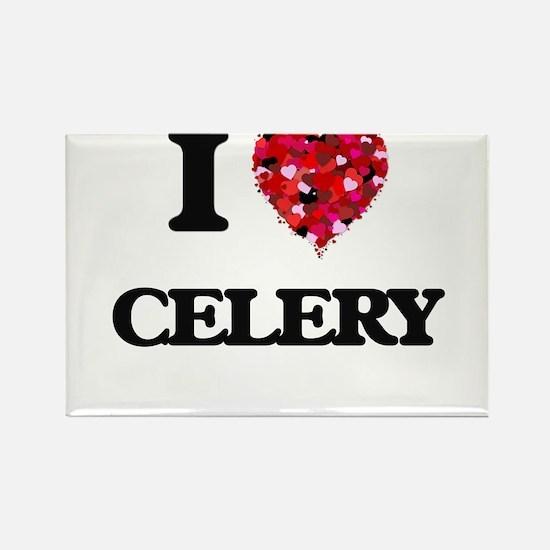 I love Celery Magnets