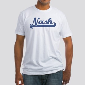 Nash (sport-blue) Fitted T-Shirt