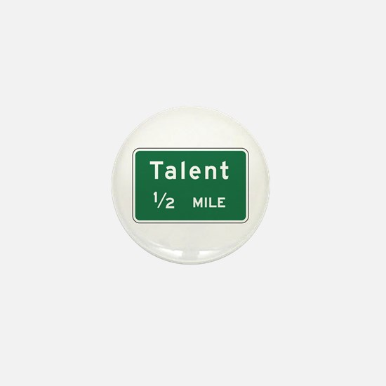 Talent, OR (US) Mini Button