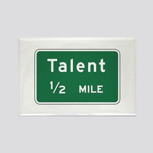 Talent, OR (US) Rectangle Magnet