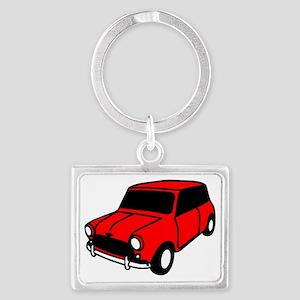 mini car Landscape Keychain