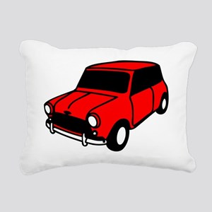 mini car Rectangular Canvas Pillow