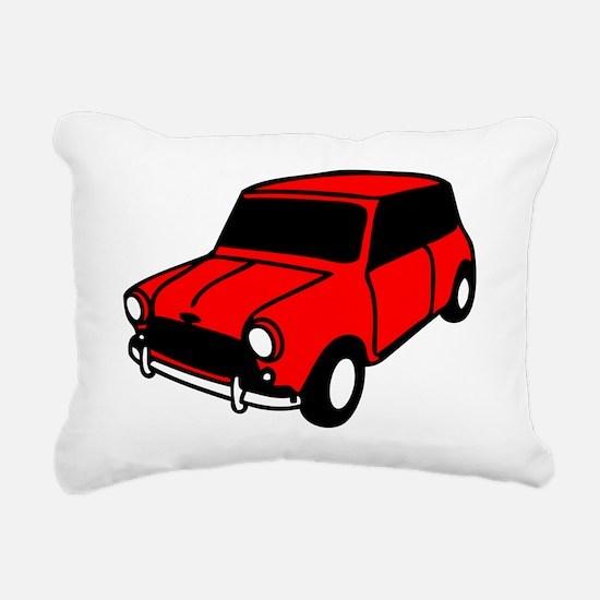 mini car Rectangular Canvas Pillow