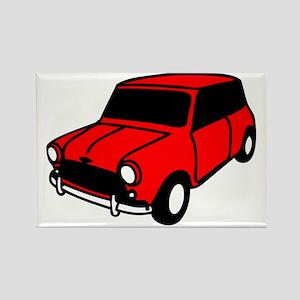 mini car Rectangle Magnet